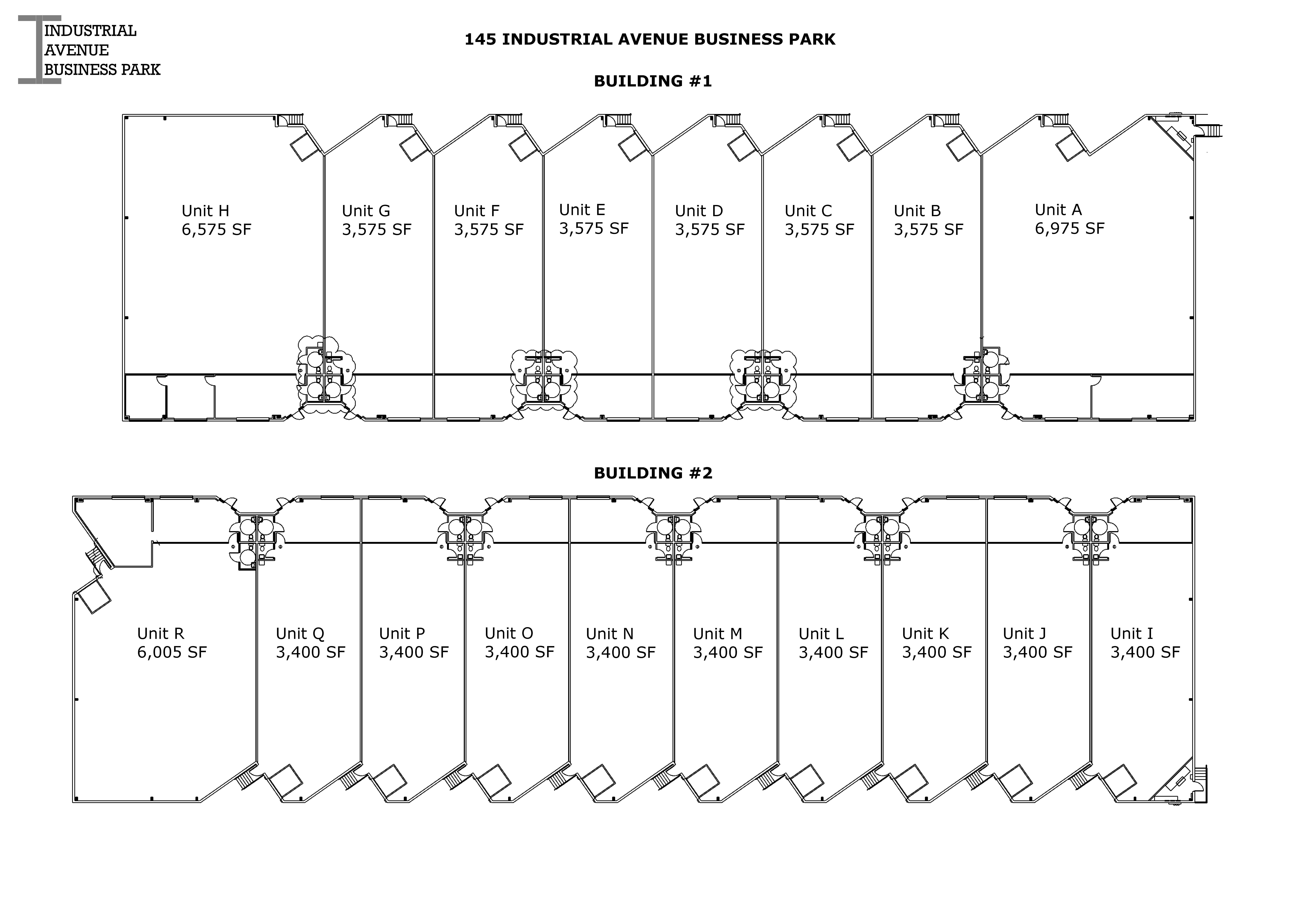 IBP Building 1 and 2 Floor Plans